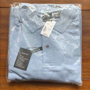 Jos A Bank 2XLT Blue Traveler Polo NWT